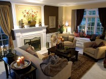 Woodinville Living Room Design